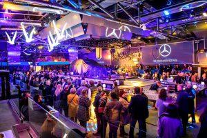 Soirée inauguration Mercedes Benz Dulou traiteur The Base Bordeaux